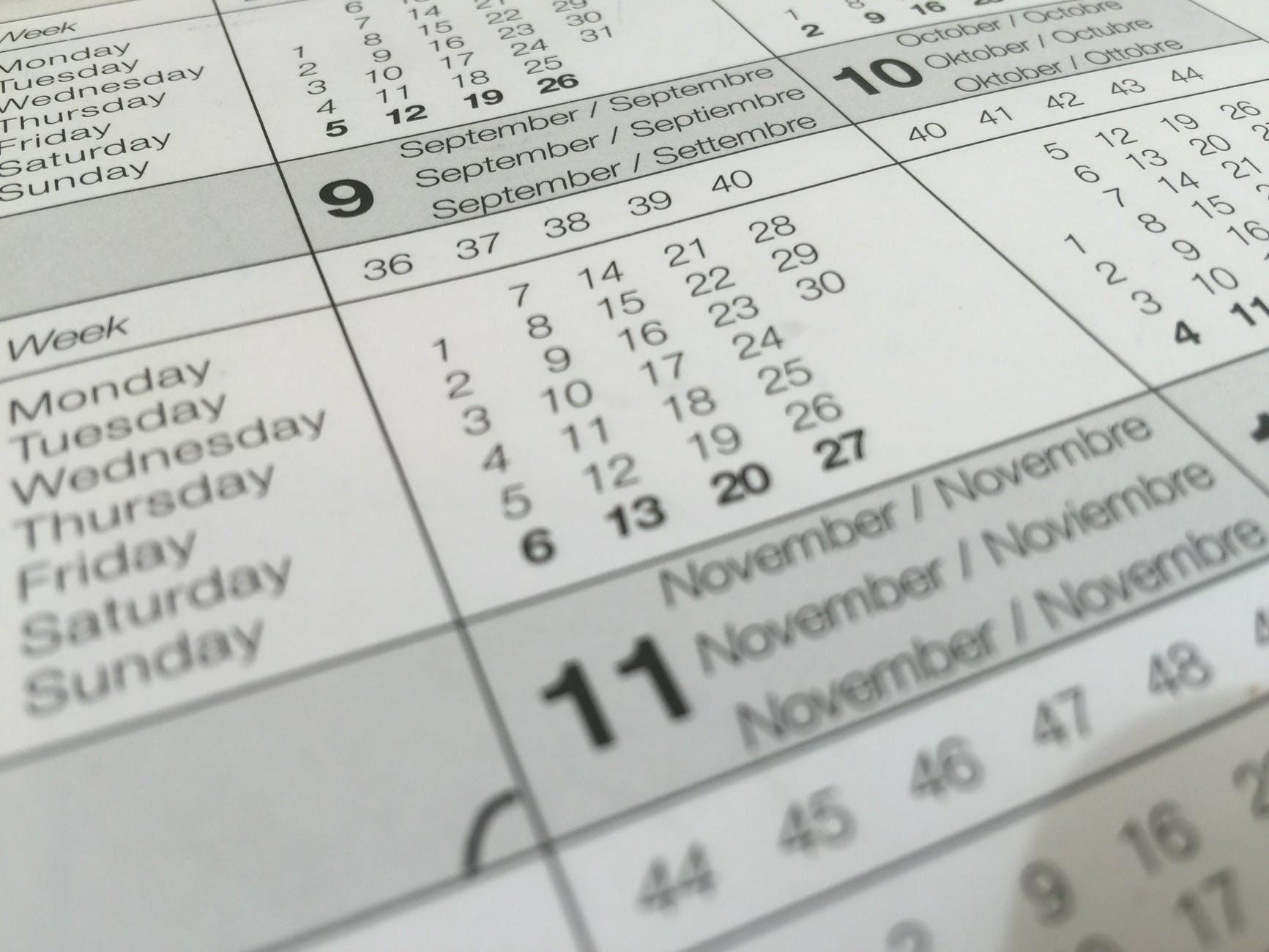 Kalender cadeau doen